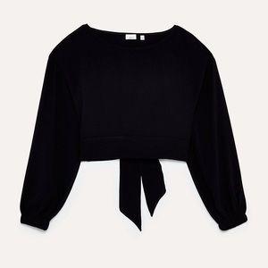 Aritzia black Wilfred Antonin blouse